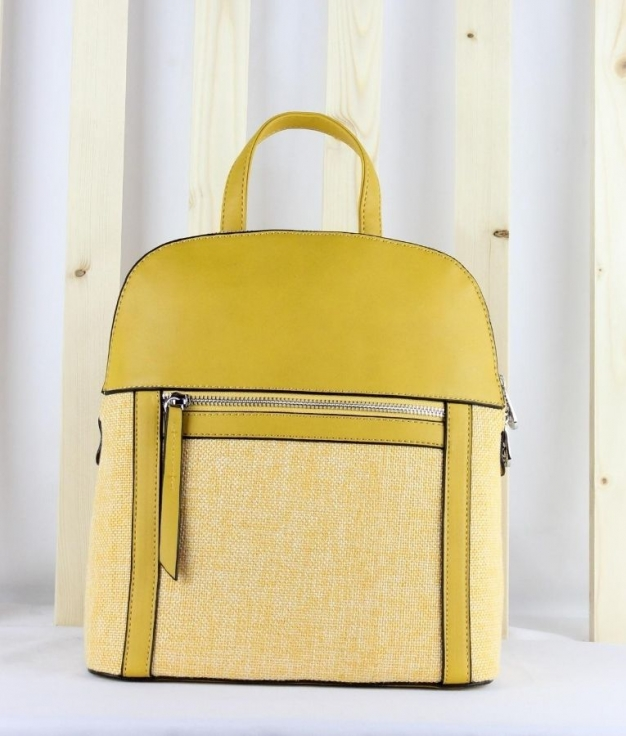 Backpack Bella - Mustard
