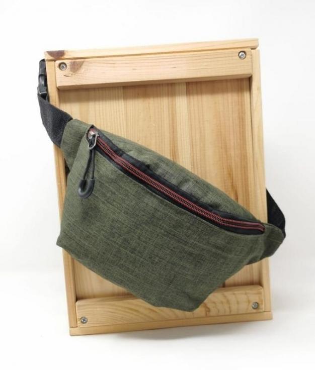 BELT BAG SELLA - GREEN