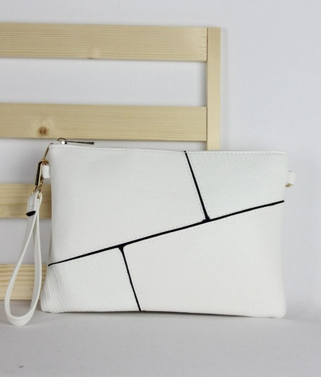 Wallet Caty - White
