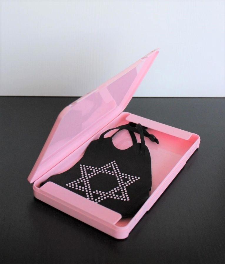 Mask Holder Lecce - Pink