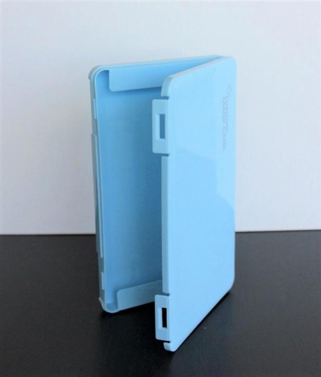 Porta Mascara Lecce - Azul