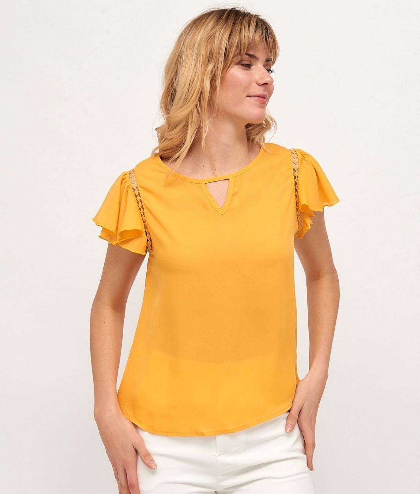 Blusa Bamba - Amarelo