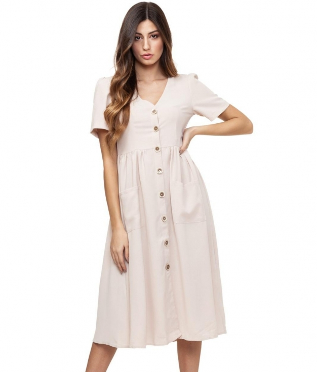 Dress Rivas - Apricot