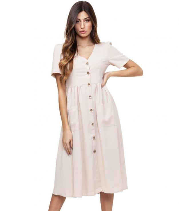 Vestido Rivas - Apricot