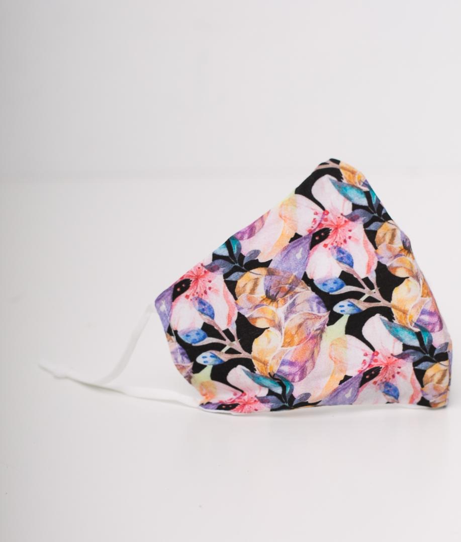 Mascarilla Flores - Multicolor