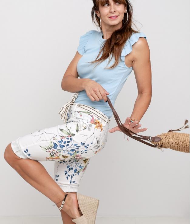 Pantalon Indu - Blanc