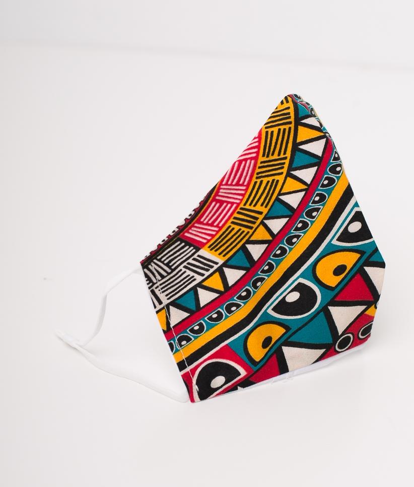 Mascarilla Tribal - Multicolor