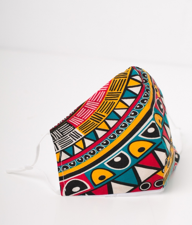 Mascarilla Tribal - Multicolor