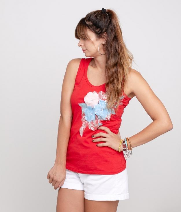 Camiseta Tuner - Rojo