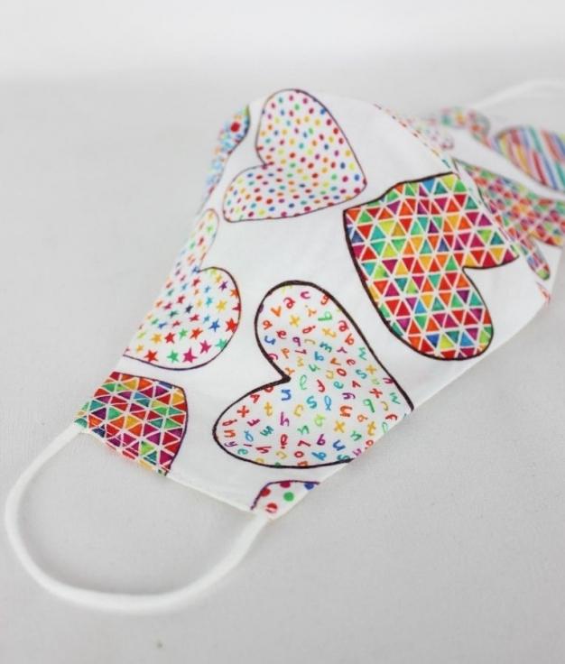 Mask Angela - Heart Color