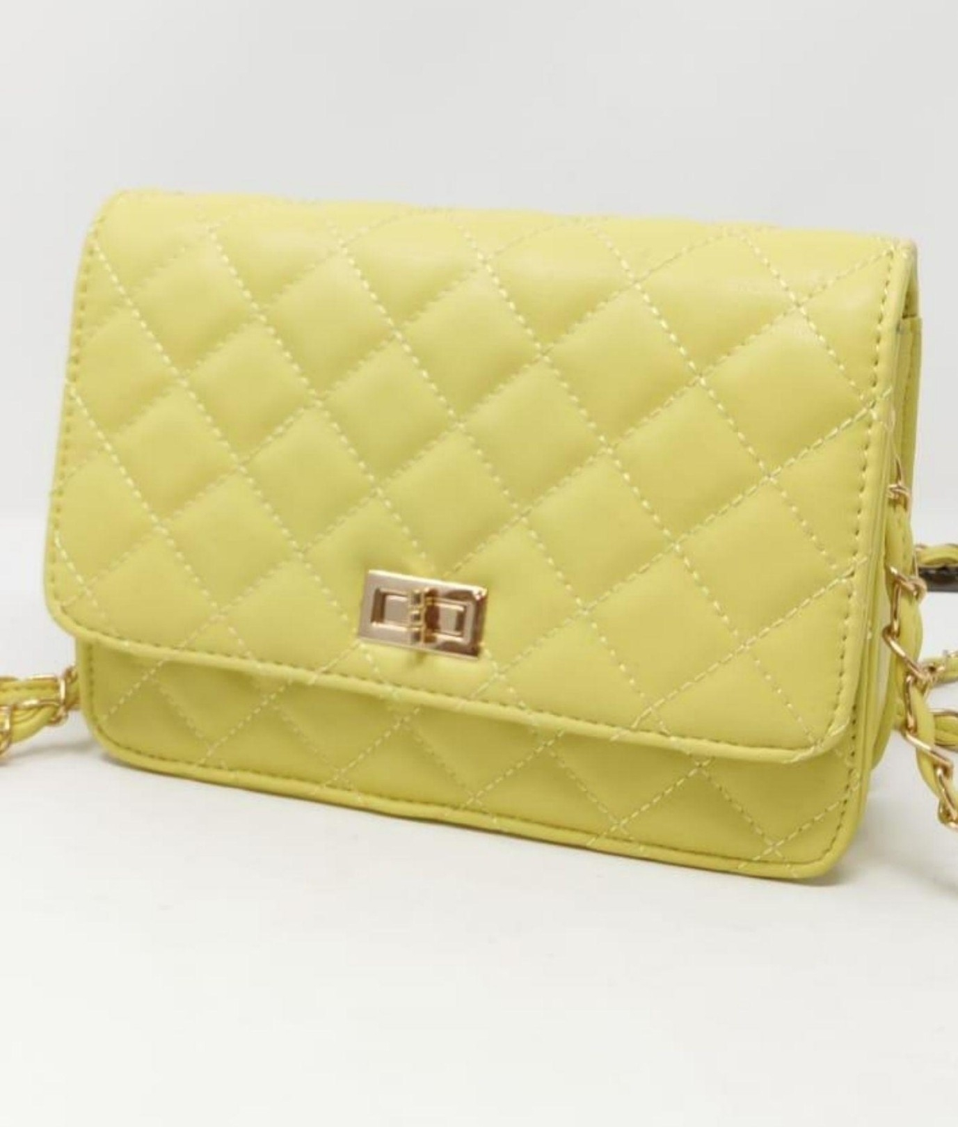 Ainy shoulder bag -Yellow