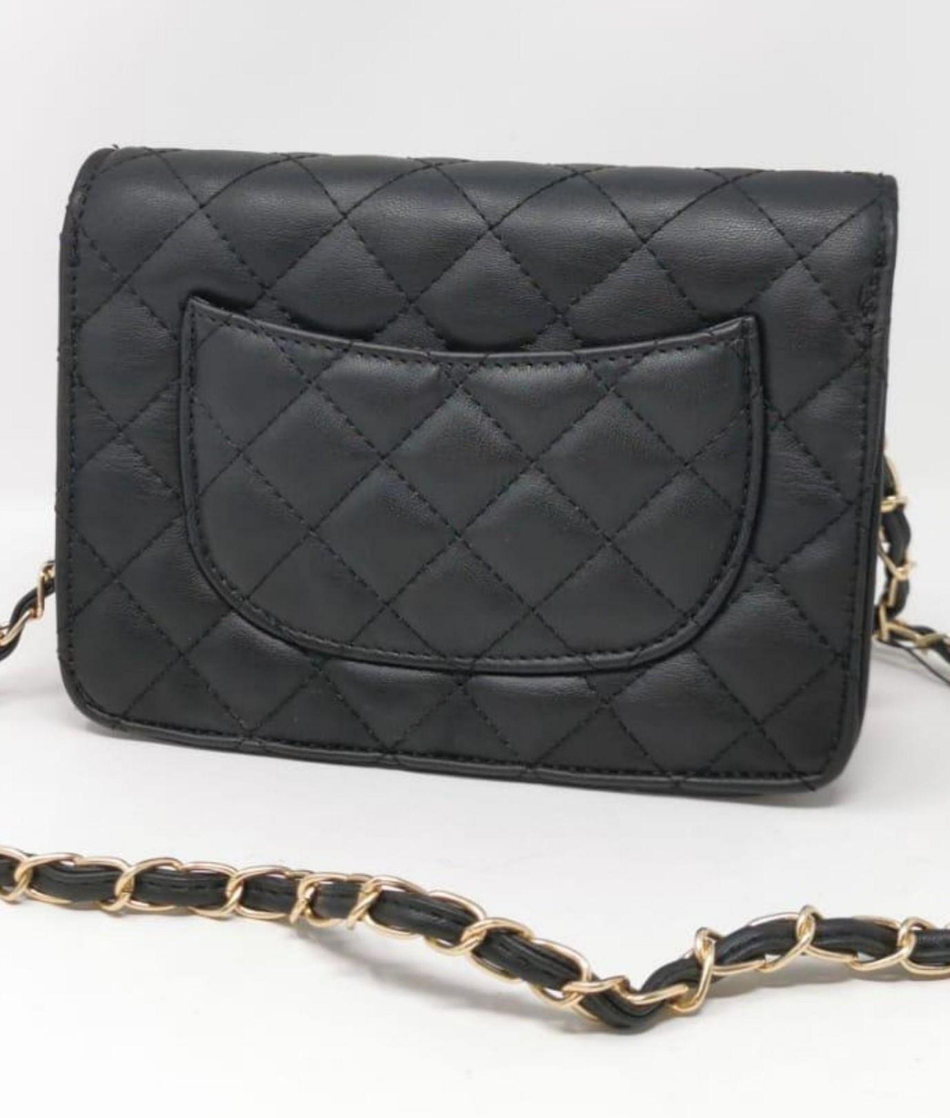 Ainy shoulder bag -Black