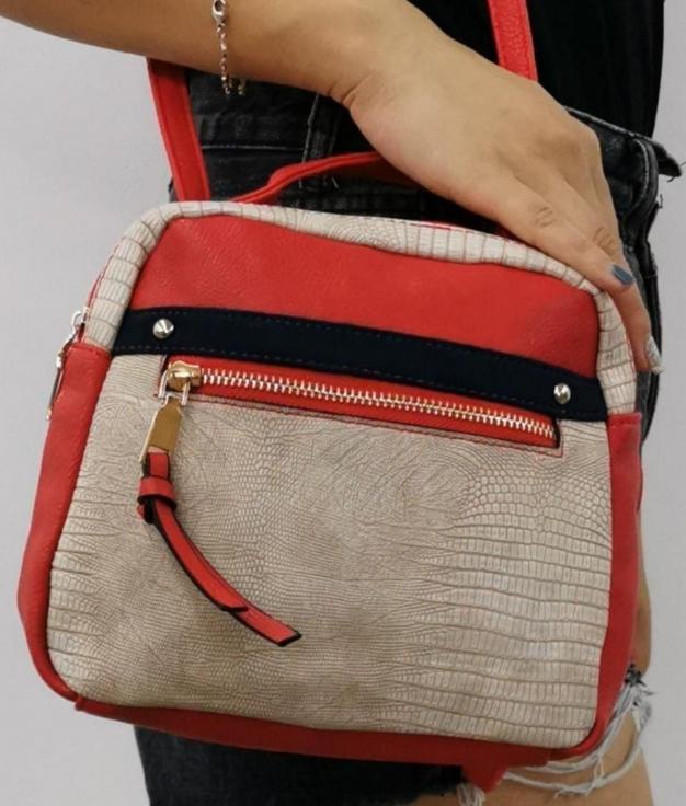 Alessia shoulder bag- Red