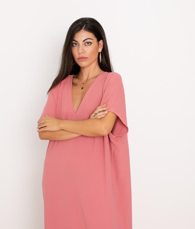 Vestido Luba - Rosa