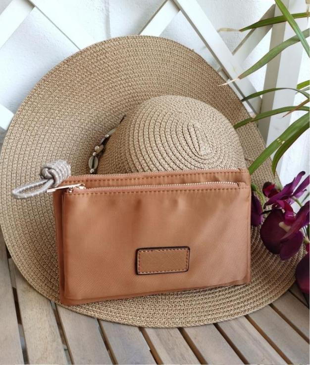 Coin purse Tiri - brown