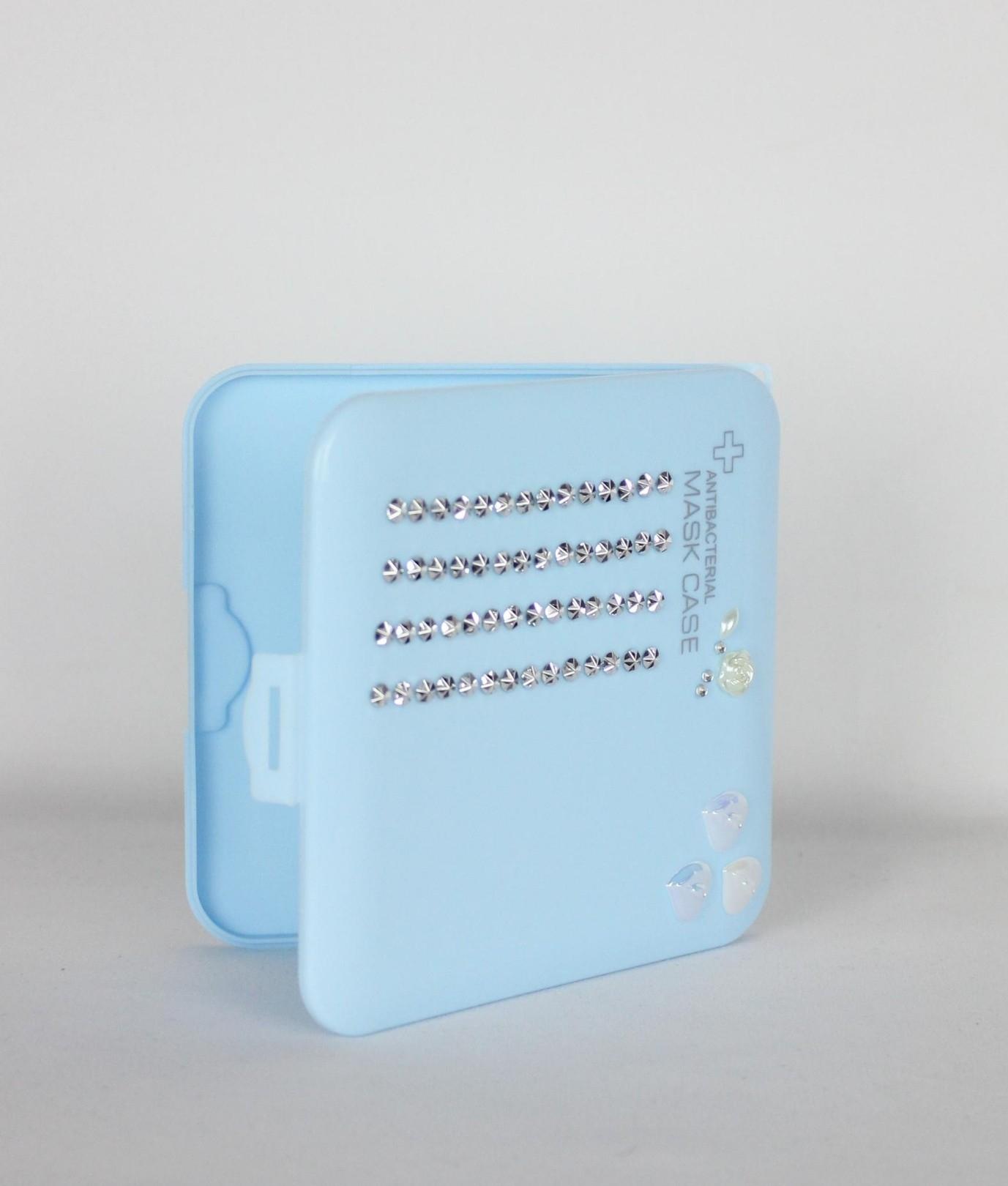 Porta Mascarilla Alexa - Azul