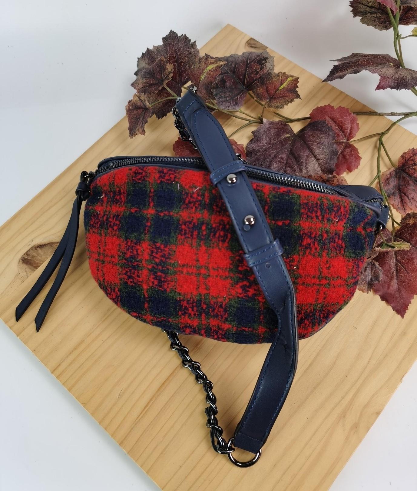 Alessia belt bag - navy blue
