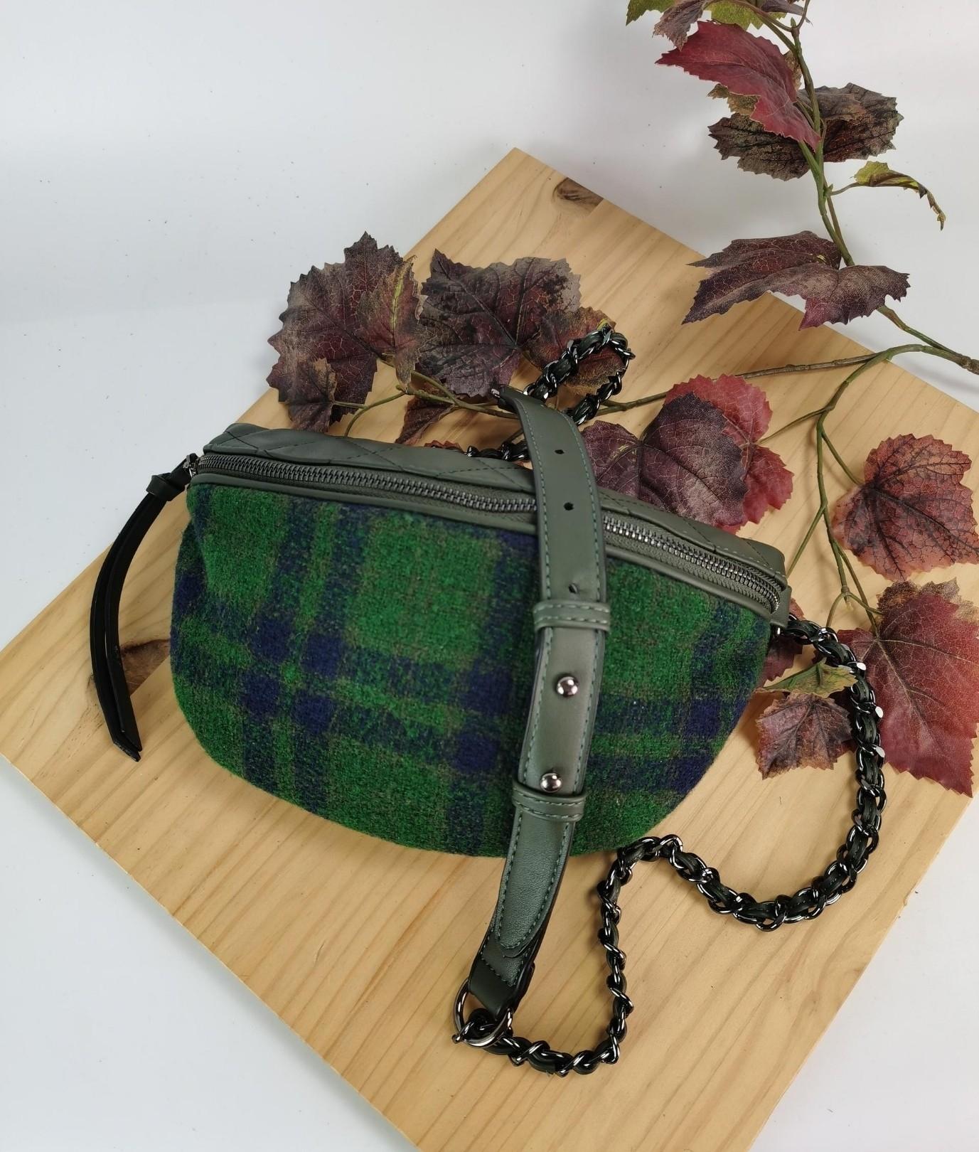 Alessia belt bag - green