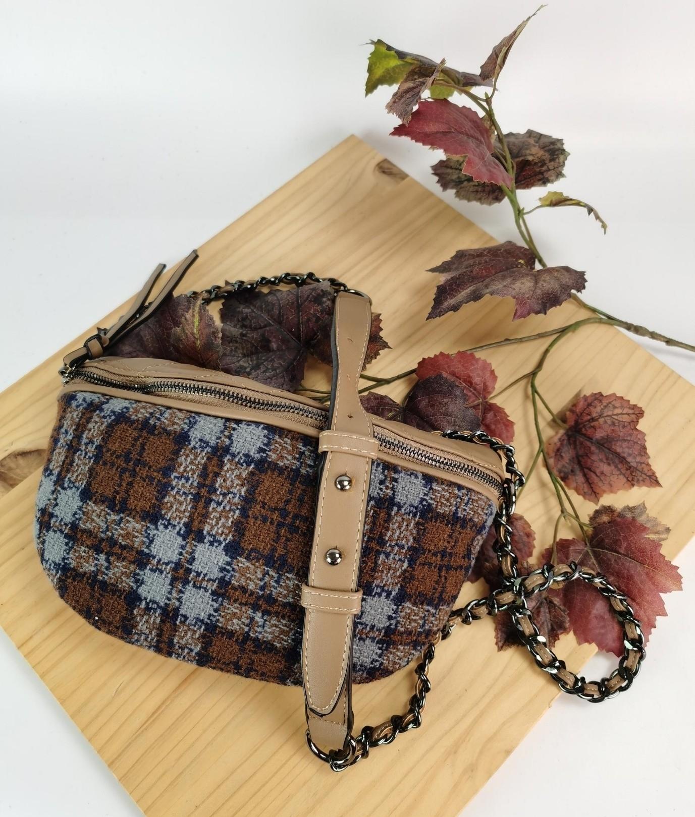 Alessia belt bag - brown