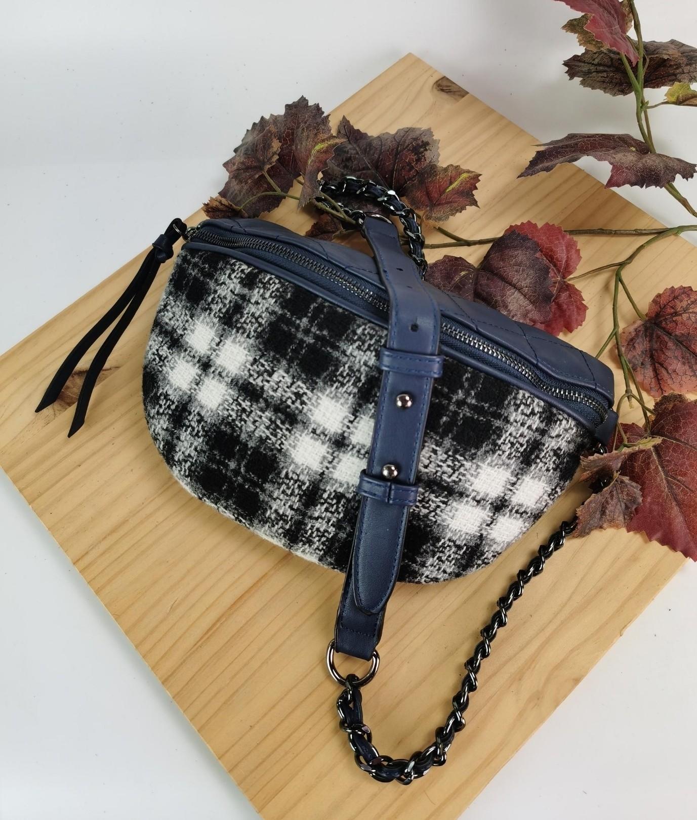 Alessia belt bag - blue