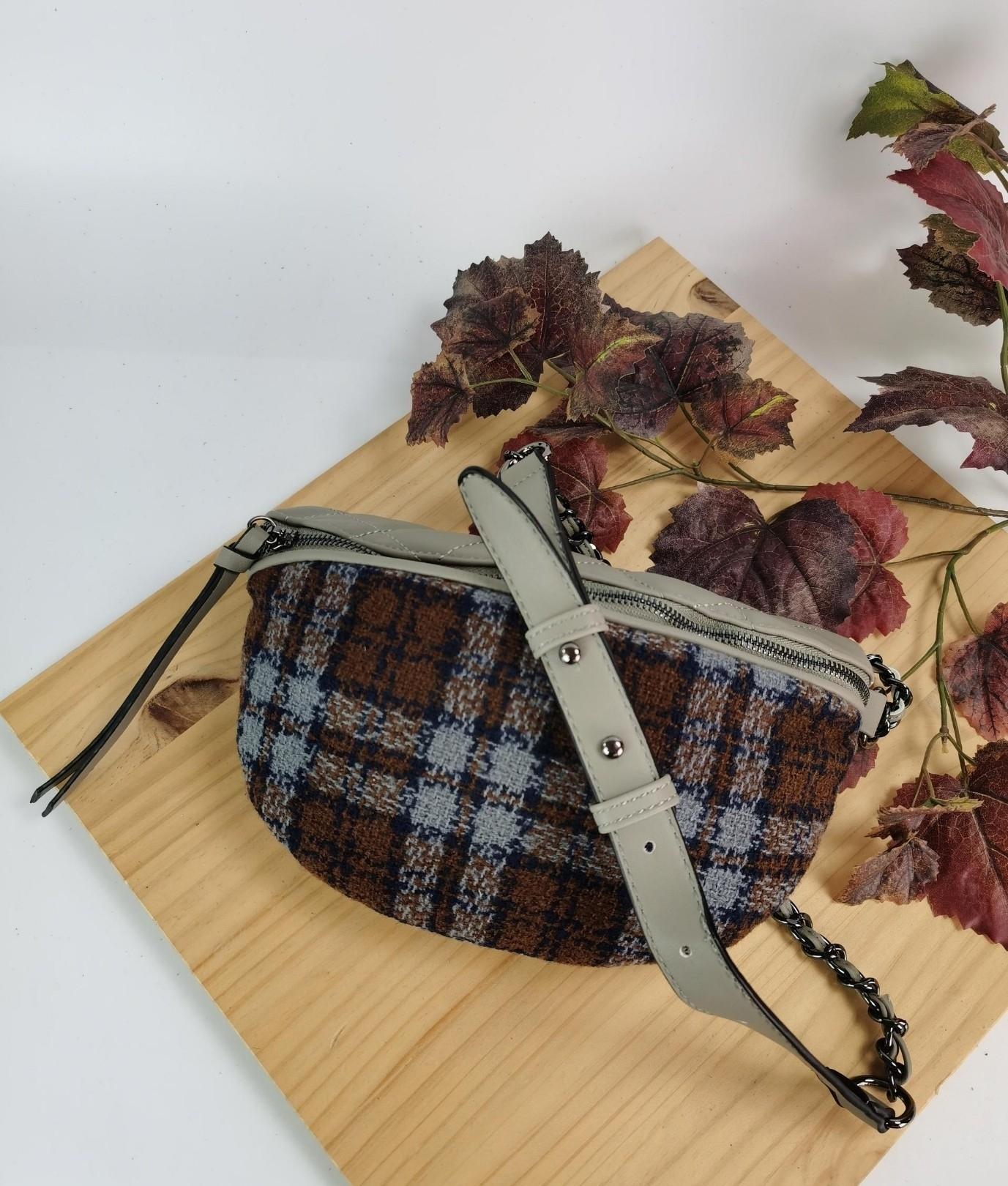 Alessia belt bag - grey