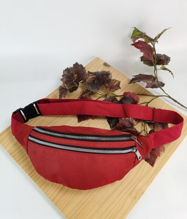 Sandra belt bag - red