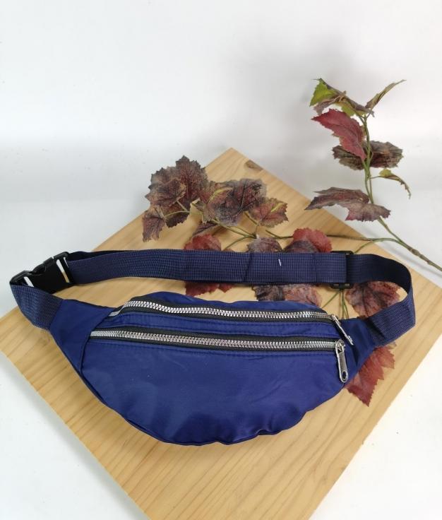 Sac ceinture - bleu