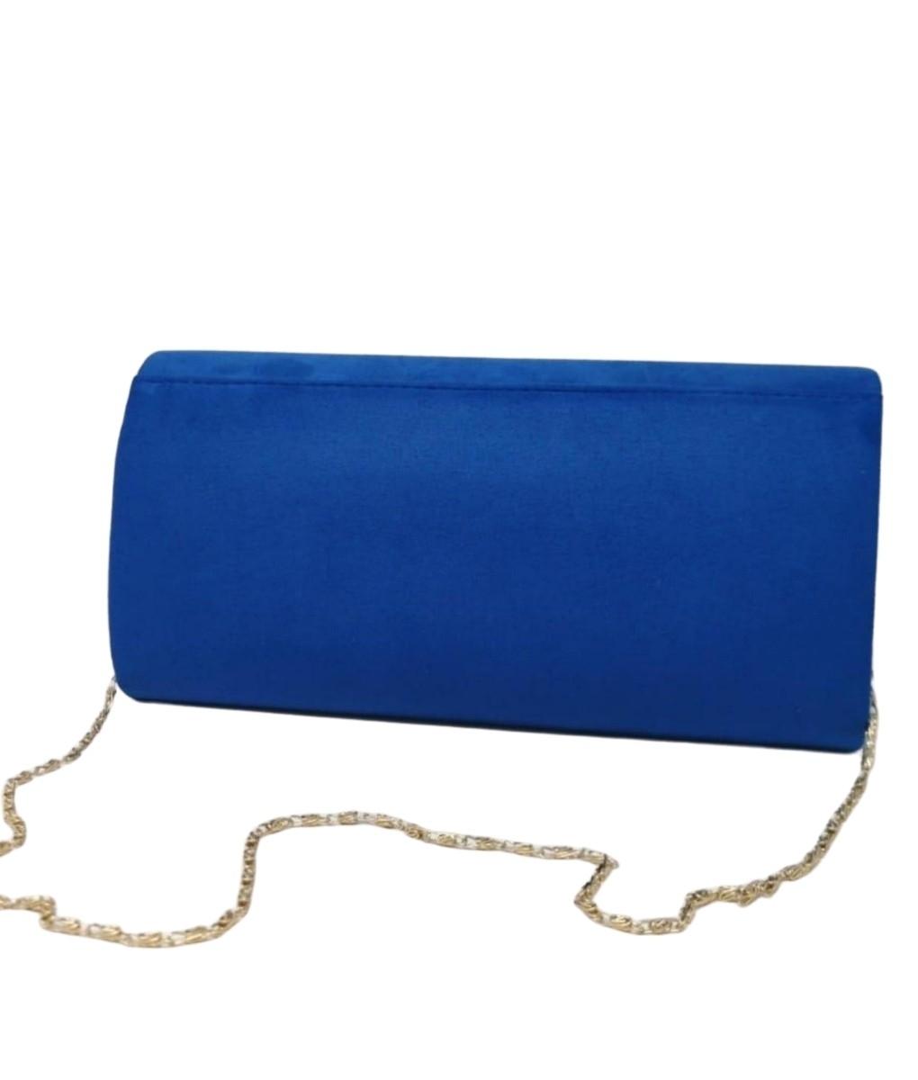 IDAIRA HANDBAG - BLUE