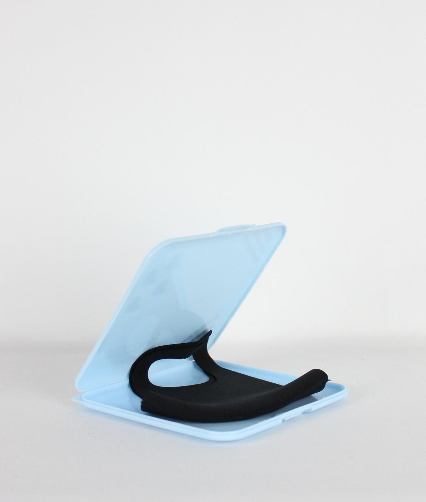 Porta Mascarilla Angela - Azul