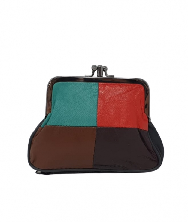 MONEDERO NEUS - MULTICOLOR