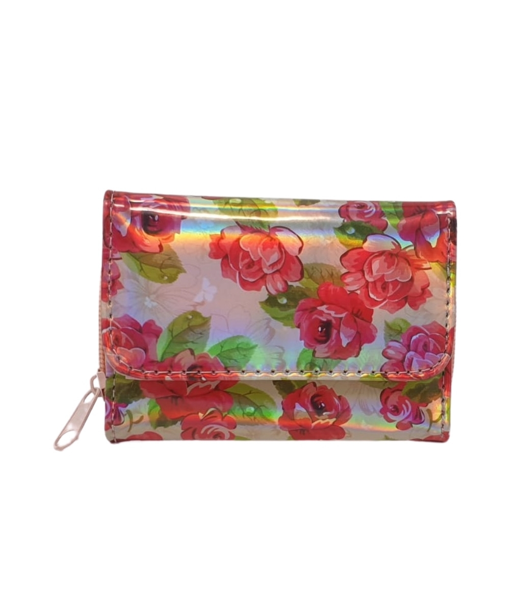CIRCUS PURSE - RED FLOWERS