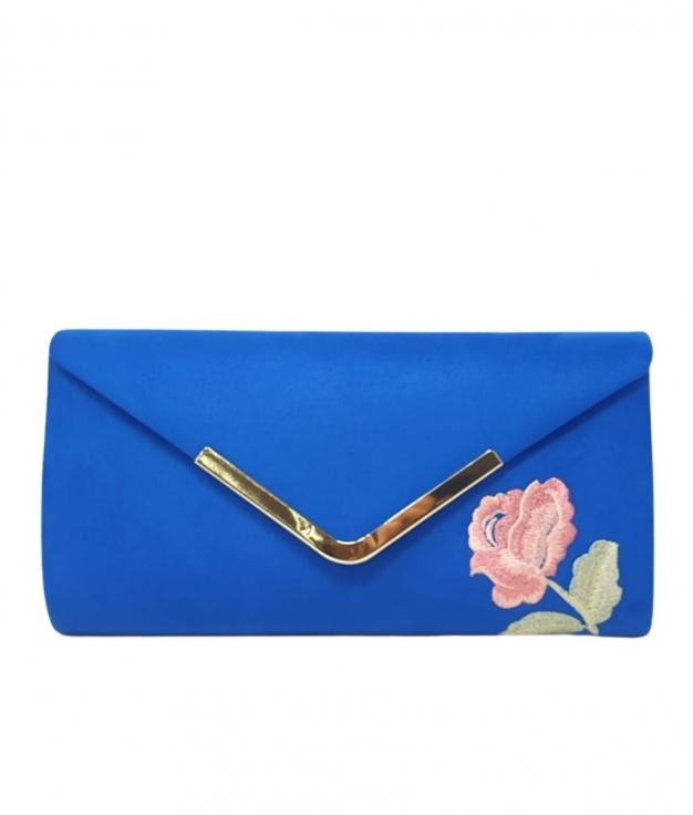 NADYA HANDBAG - BLUE