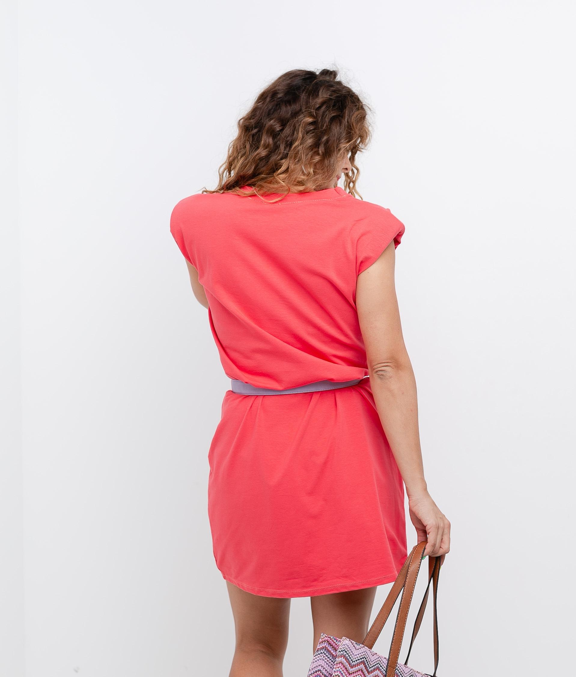 Vestido Bow - Orange