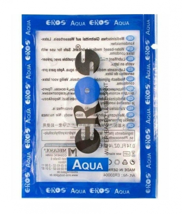 LUBRICANTE BASE AGUA EROS 4 ML