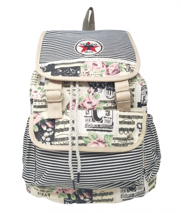 TEXACO BACKPACK - BEIGE