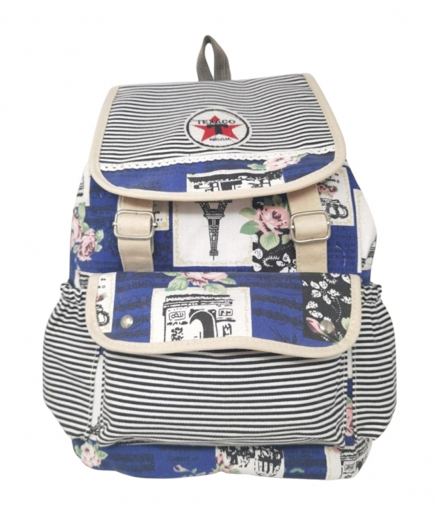 TEXACO BACKPACK - BLUE