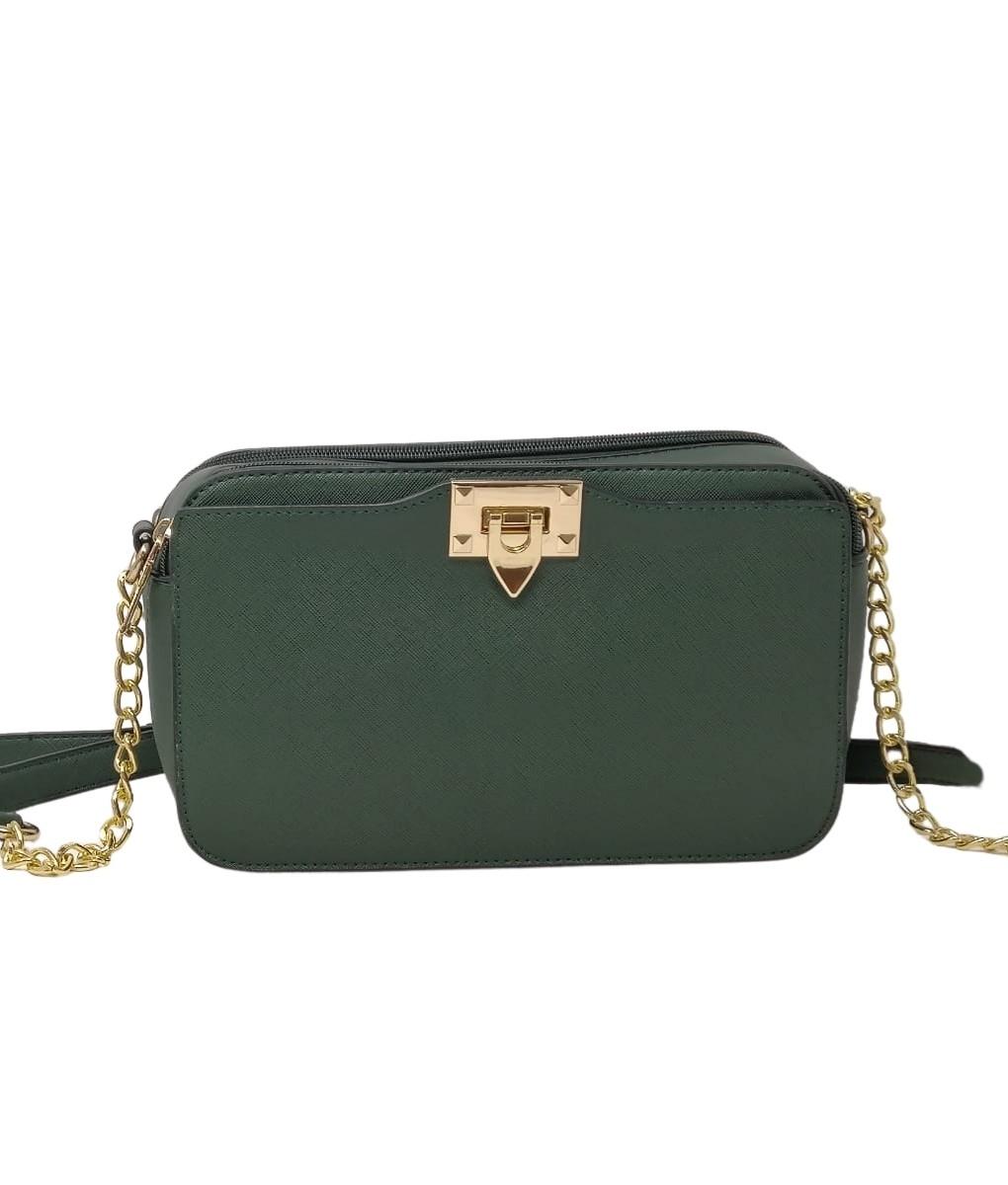 Pilar-Green Shoulder Bag