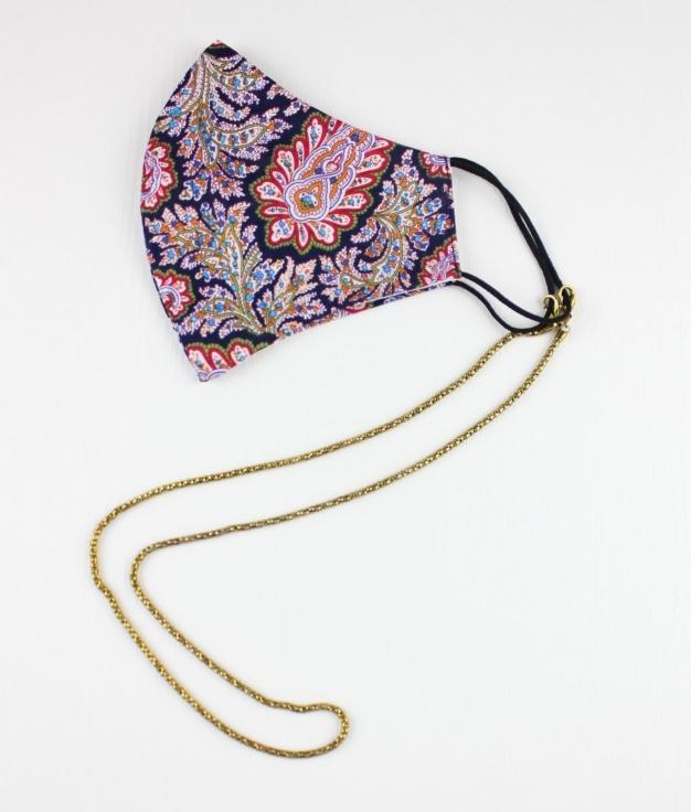 Mascara Pendente Fashion - Dourado