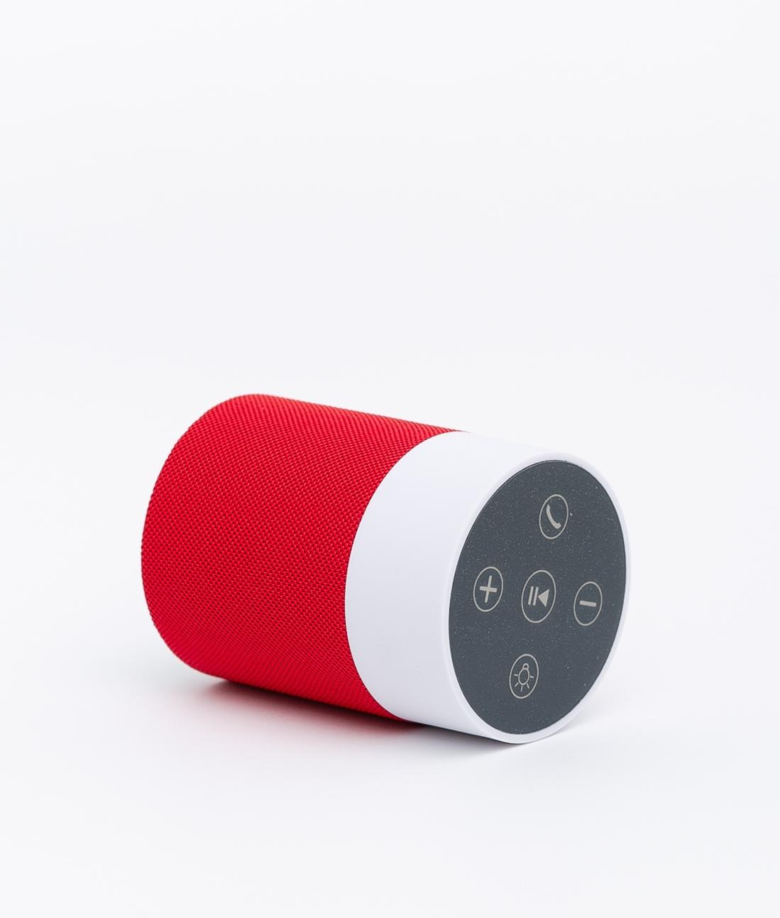 Altoparlante Bluetooth Abacus - Rosso