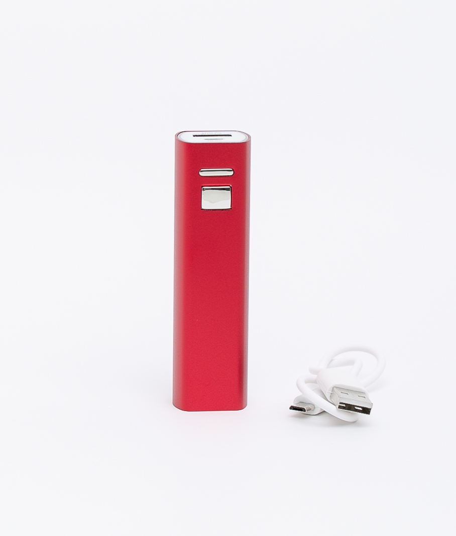 Luna external battery - Red
