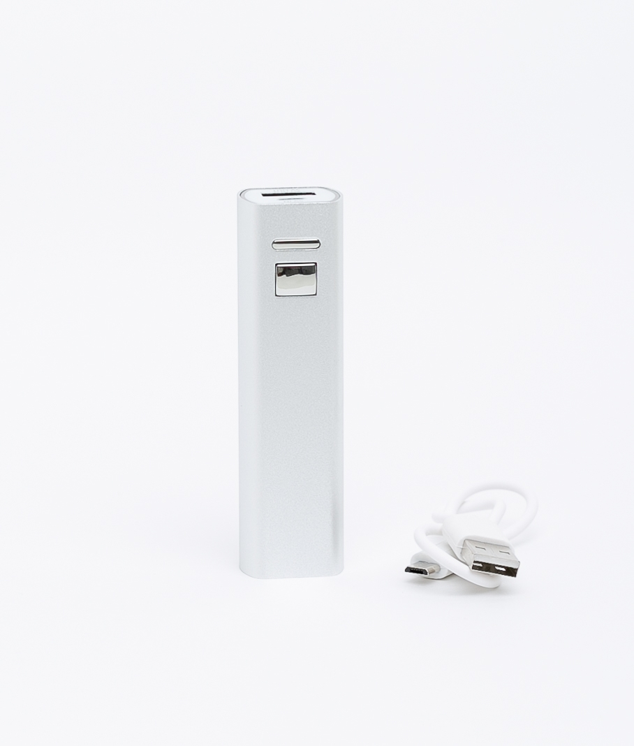 Luna external battery - Silver
