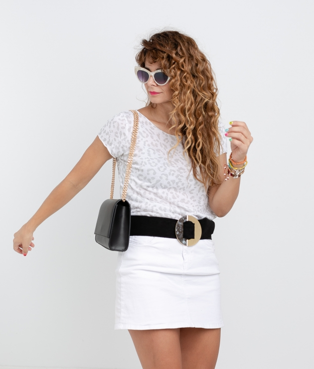 Camiseta Afra - Branco