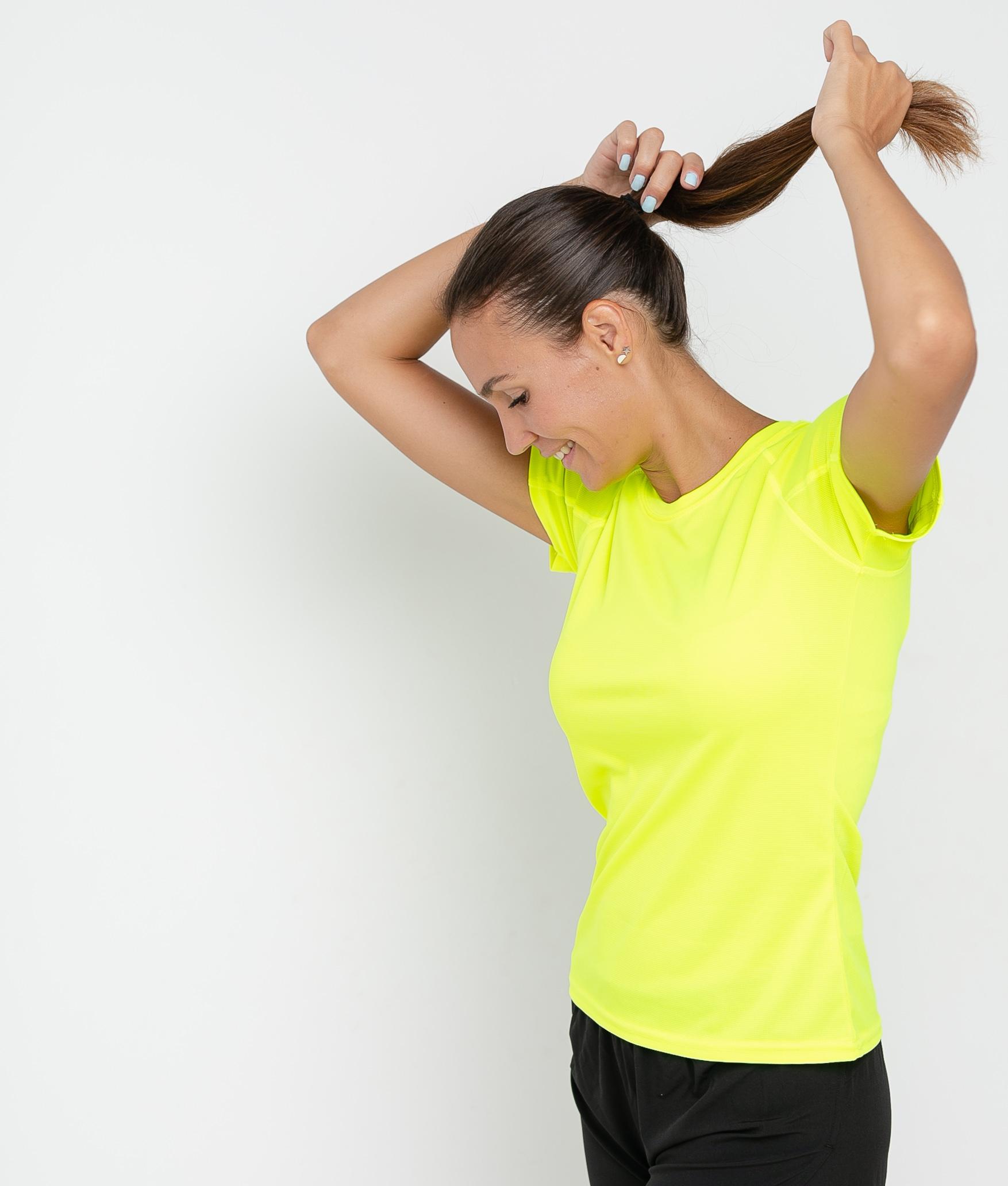 Camiseta Mita - Amarelo Fluorina