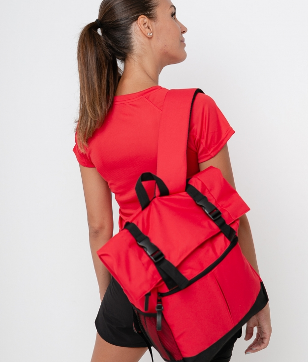 PRINKA BACKPACK - RED