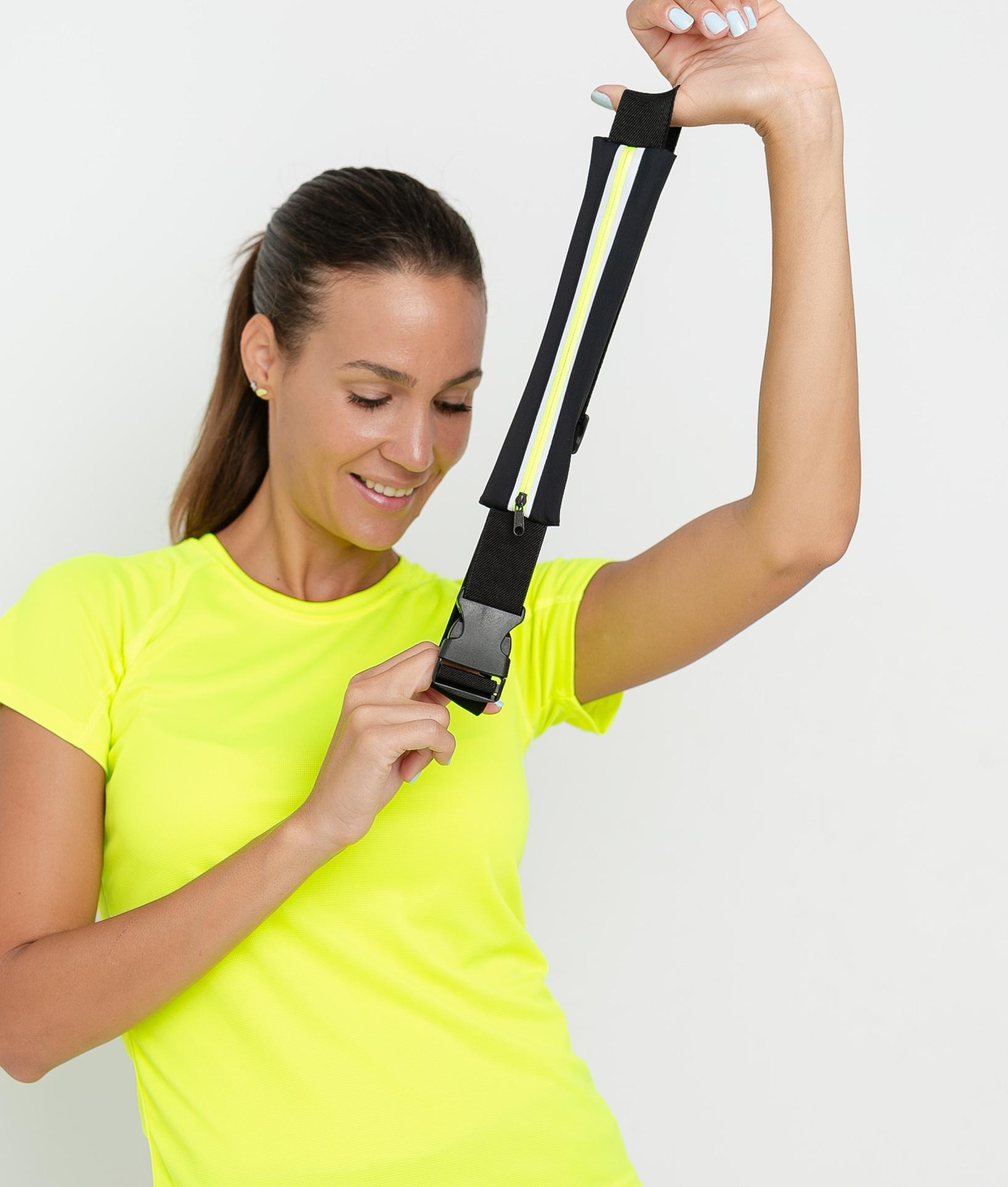 Cintura Rinero - Nero/Giallo fluoro