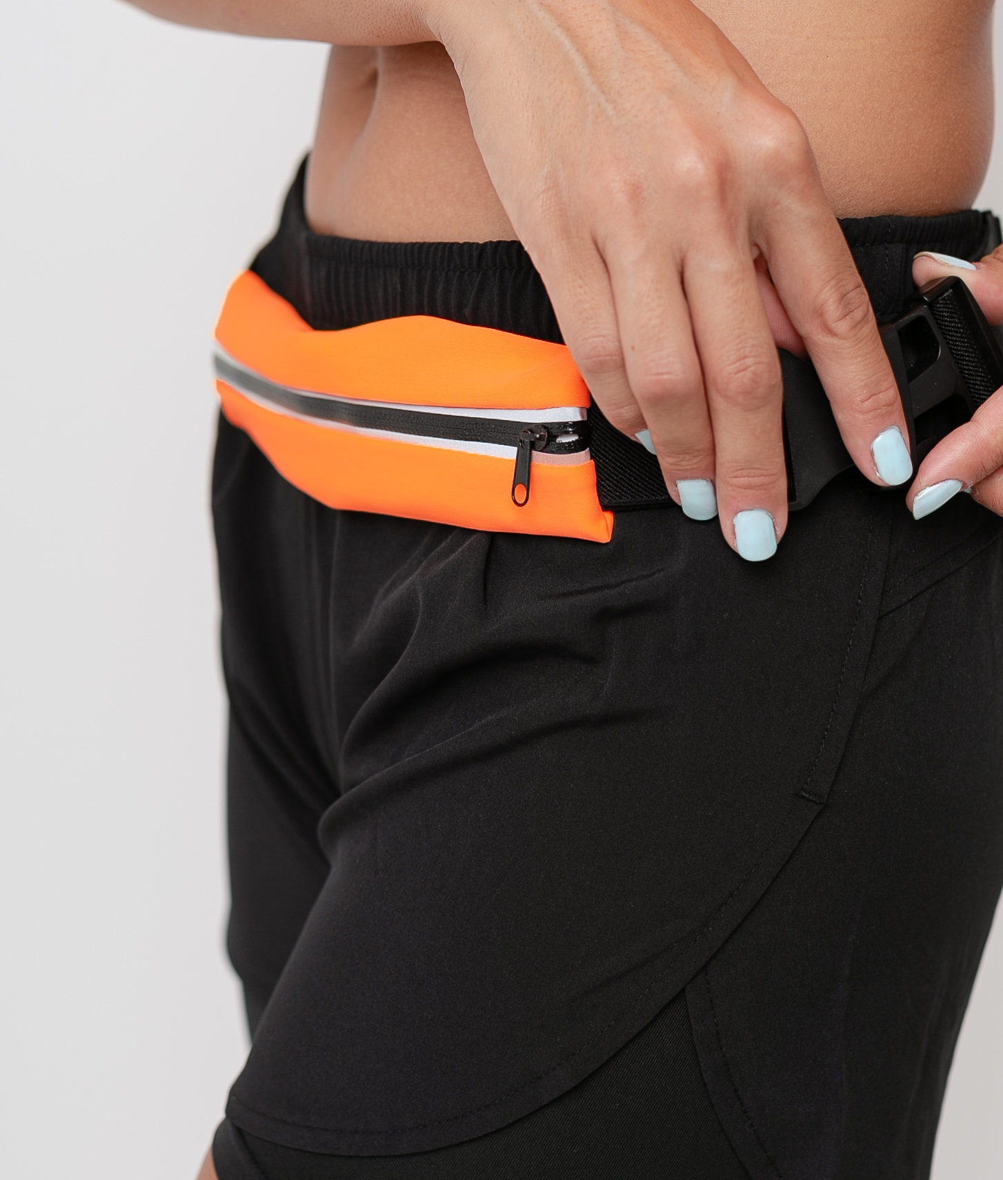 Belt Rinero - Orange fluorine/Black
