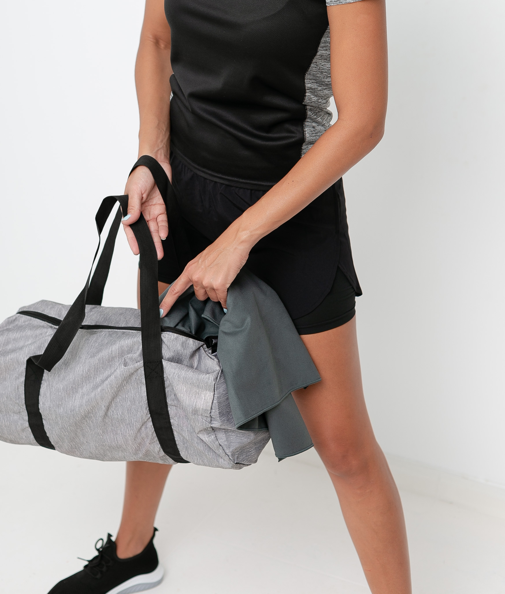 Sport bag Berger - Grey