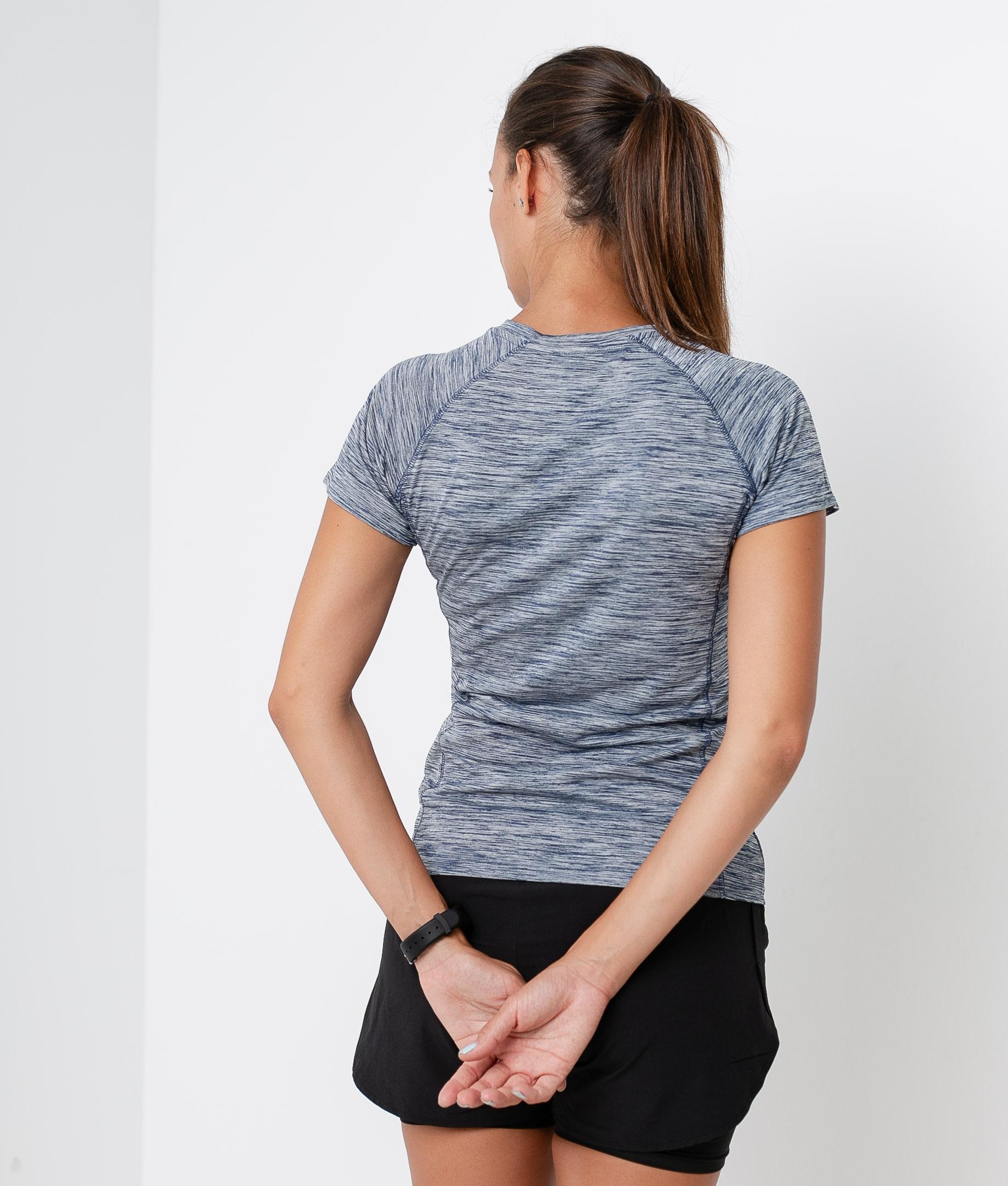 Camiseta Leira - Azul Marino