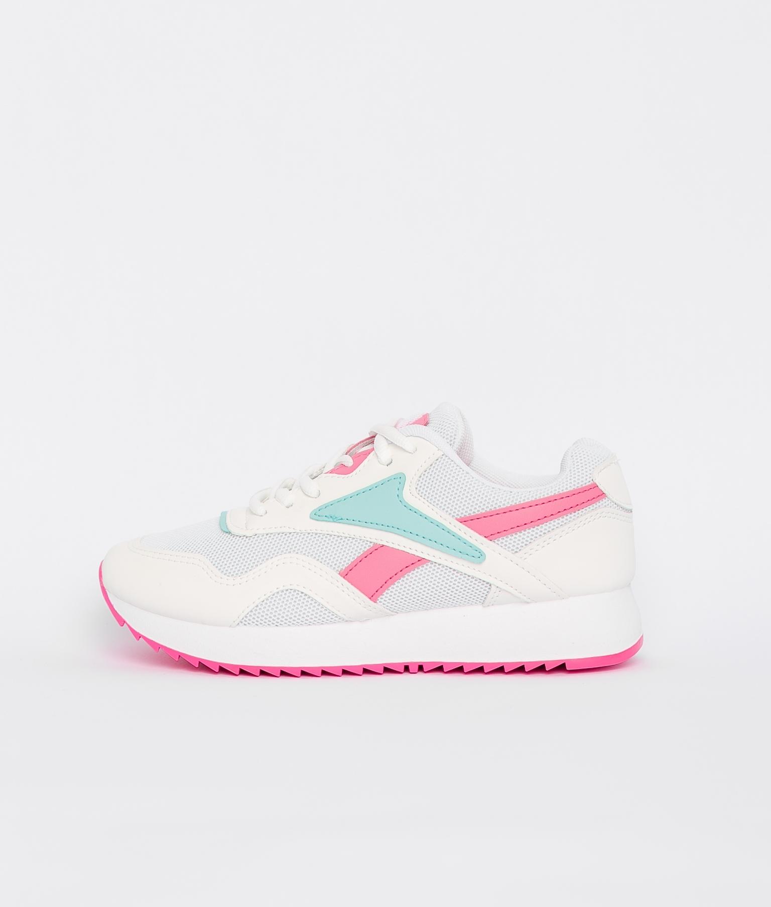Sneakers Rame - Blanco/Fucsia