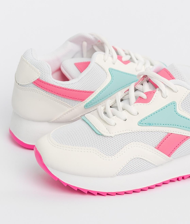 Sneakers Rame - White/Fuchsia